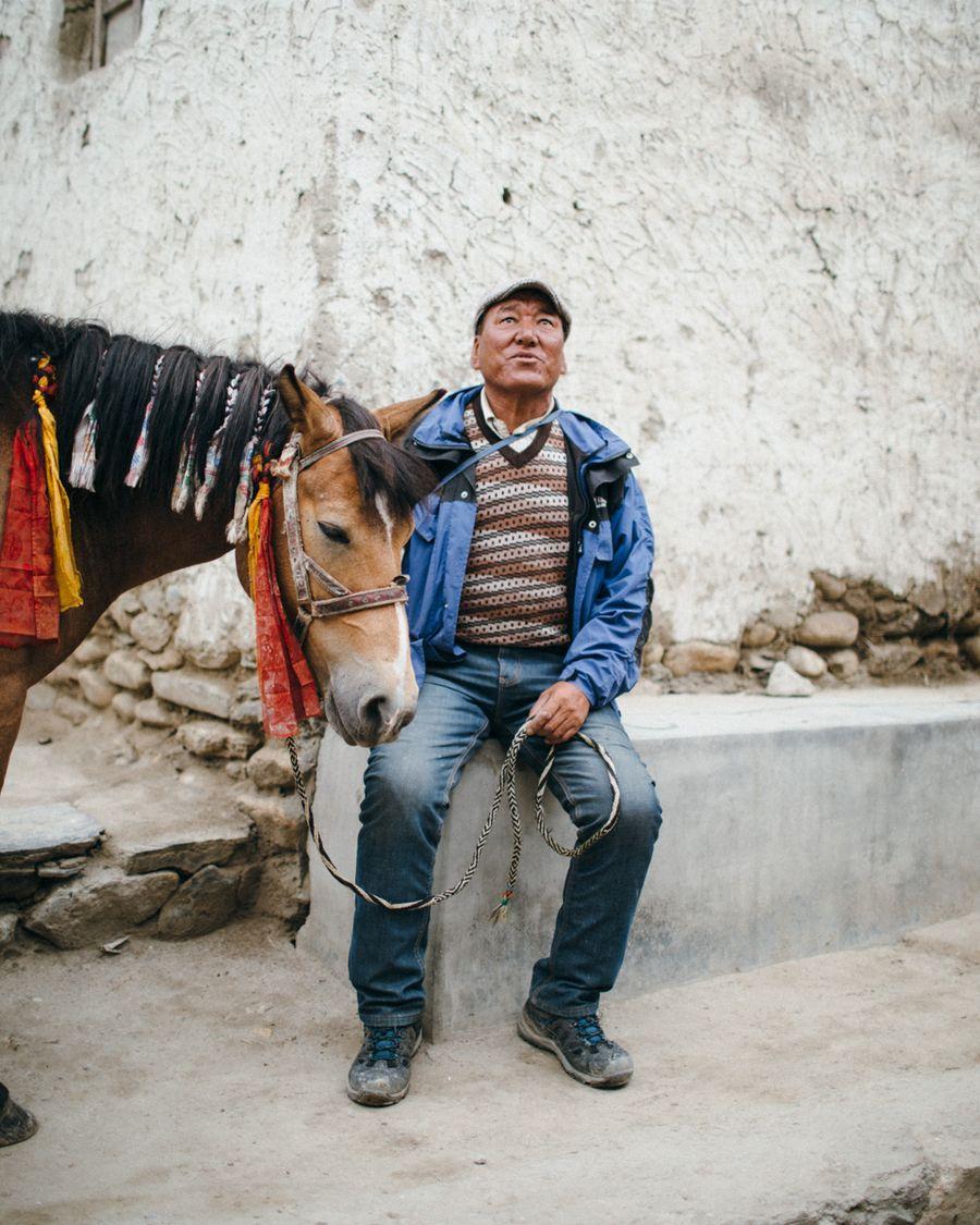 Pasang, royal  horse trainer
